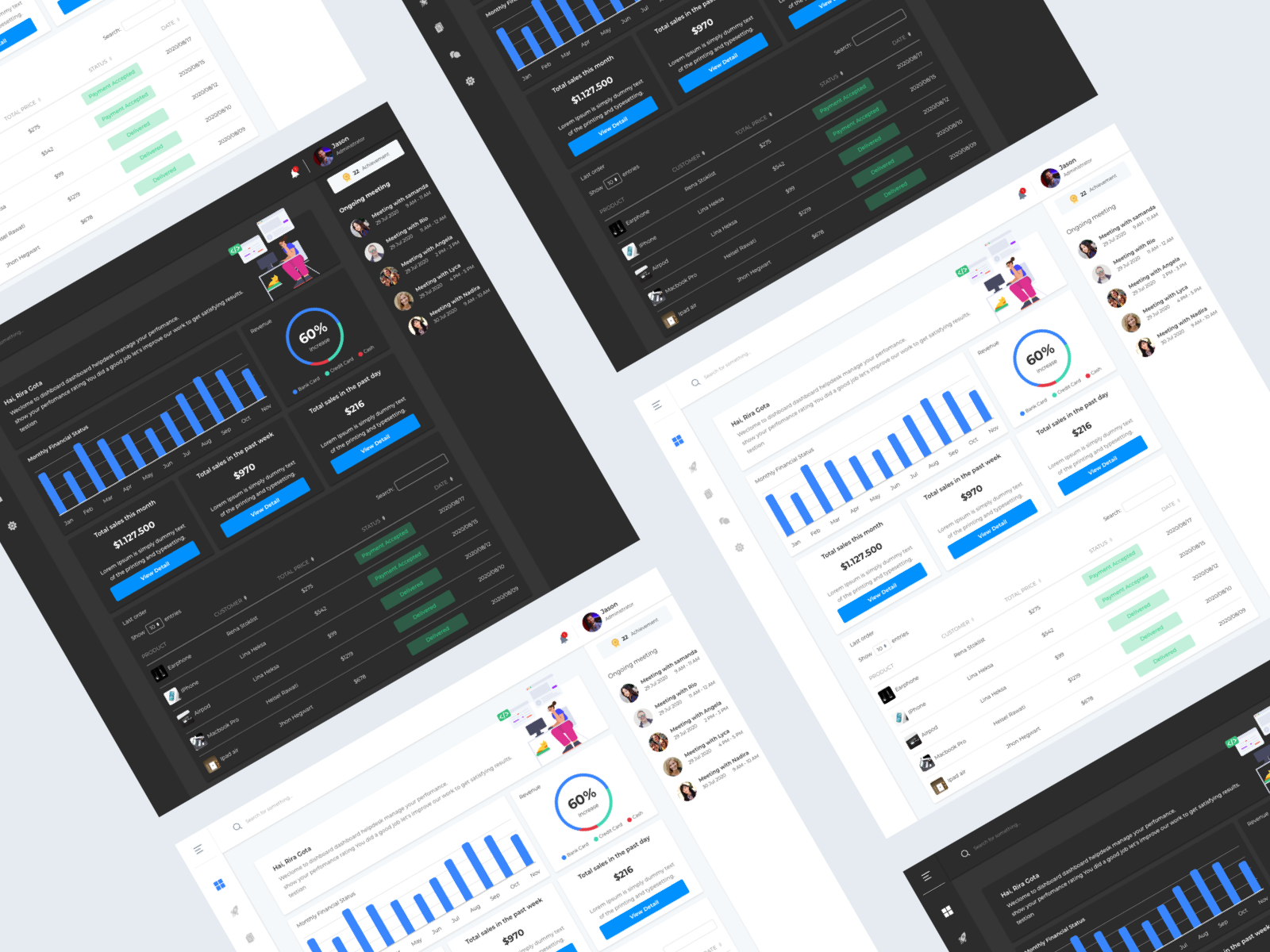 Management file app UI kit