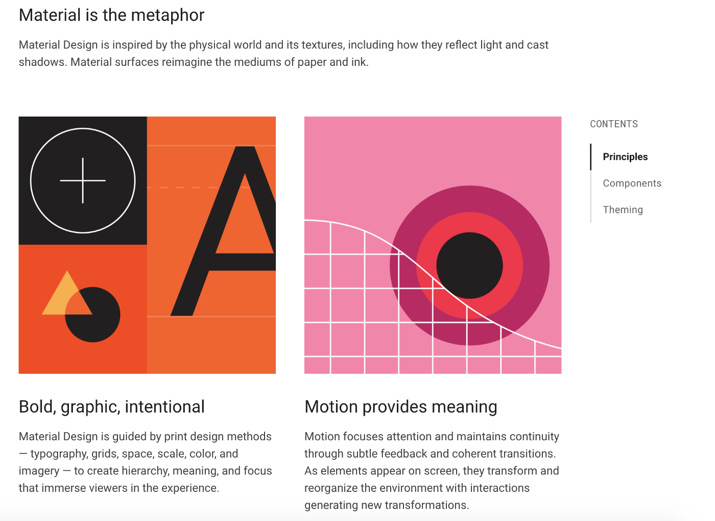 Understanding Material Design, the System Design from Google